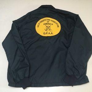 VTG 80s Gold Prospector is America Nylon Jacket
